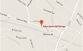 Map of Billericay Store