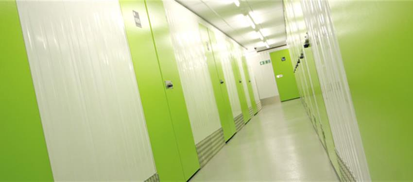 Over 600 individual storage rooms in Stamford Hill